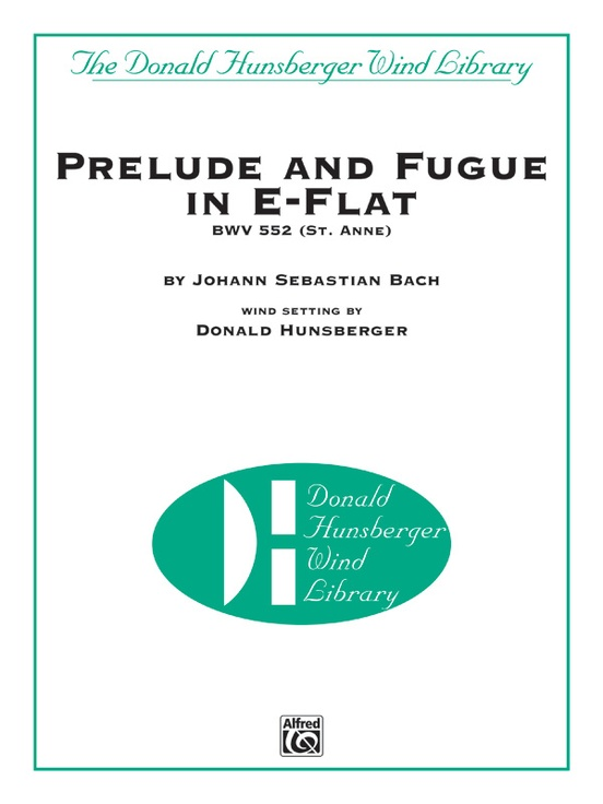 Prelude and Fugue in E-flat BWV 552 (St. Anne)