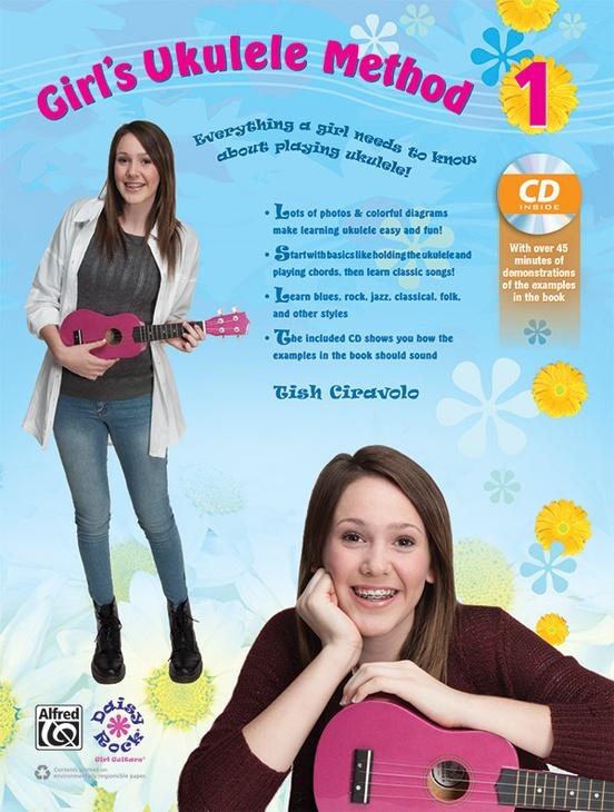 Girls Ukulele Method 1 Ukulele Book Cd