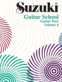 Suzuki Guitar School Guitar Part, Volume 4