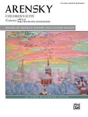 Arensky: Children's Suite (Canons), Opus 65