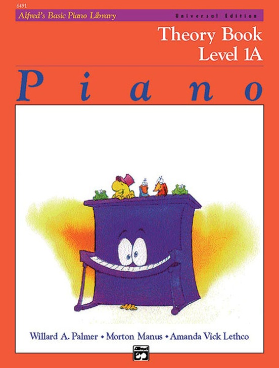 Alfred's Basic Piano Library: Universal Edition Theory Book 1A