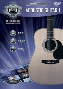 Alfred's PLAY: Acoustic Guitar 1