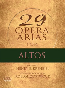 29 Opera Arias for Altos