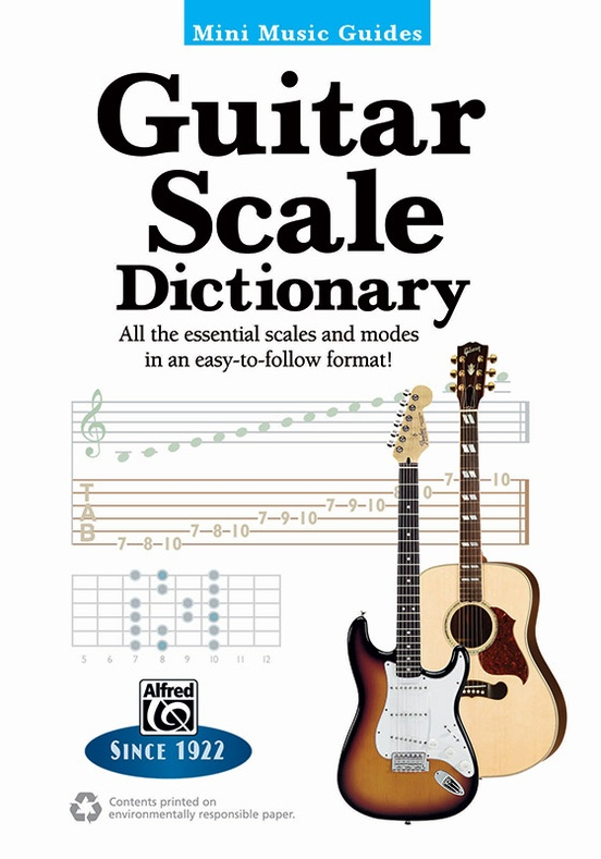 Mini Music Guides: Guitar Scale Dictionary