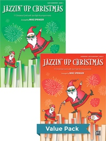 Jazzin' Up Christmas 1-2 (Value Pack)