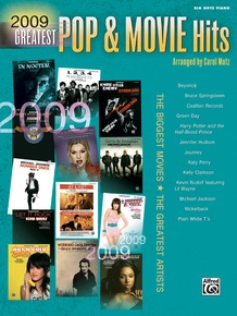 2009 Greatest Pop & Movie Hits