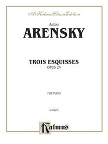 Trois Esquisses, Opus 24