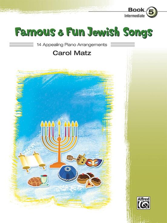 Famous & Fun Jewish Songs, Book 5