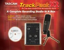 Tascam TrackPack X2 Computer Recording Starter Pack