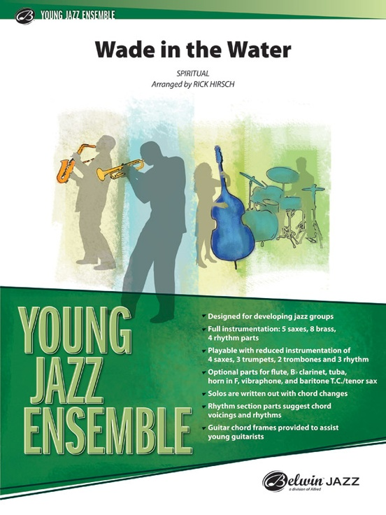 Wade In The Water Jazz Ensemble Conductor Score Parts