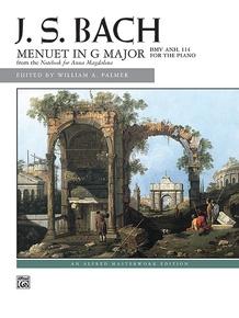J. S. Bach, Menuet in G Major, BWV Anh. 114