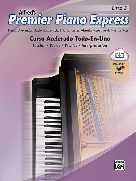 Premier Piano Express: Spanish Edition, Libro 3