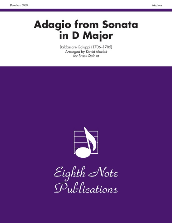 Adagio (from Sonata in D Major)