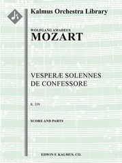 Vesperae Solennes de Confessore, K. 339