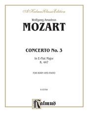 Horn Concerto No. 3 in E-flat Major, K. 447