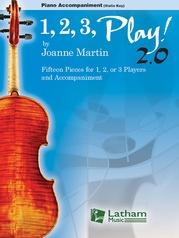 1, 2, 3 Play! 2.0 Piano Score (Violin Key)