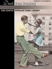 Dan Coates Popular Piano Library: Duets from Broadway