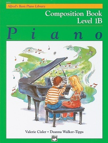 Alfred's Basic Piano Library: Composition Book 1B