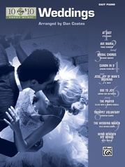 10 for 10 Sheet Music: Weddings