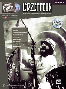 Ultimate Drum Play-Along: Led Zeppelin, Volume 1