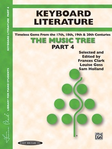 The Music Tree: Keyboard Literature, Part 4