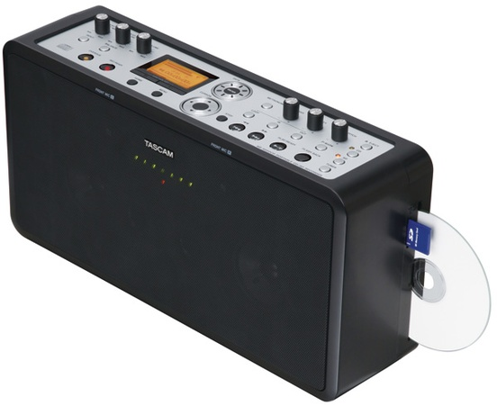 Tascam BB1000CD Stereo Recorder with Speakers, CD Player/Rec