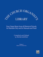 The Church Organist's Library, Volume 1: Music for General Use
