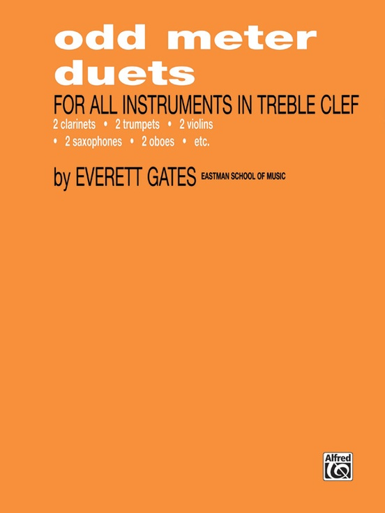 Odd Meter Duets for All Instruments in Treble Clef