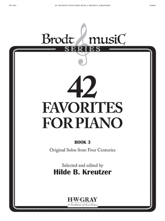 42 Favorites for Piano, Book 3