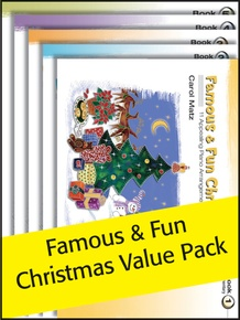 Famous & Fun Christmas 1-5 (Value Pack)