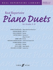 Real Repertoire Piano Duets for Grades 4-6