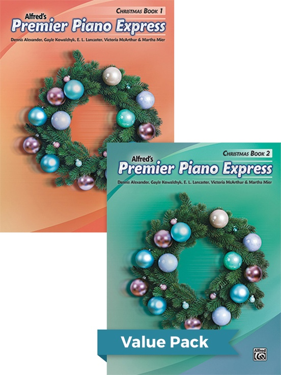 Premier Piano Express: Christmas, Books 1 & 2 (Value Pack)