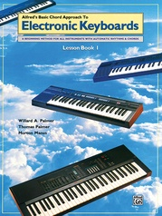 Alfred's Basic Chord Approach to Electronic Keyboards: Lesson Book 1
