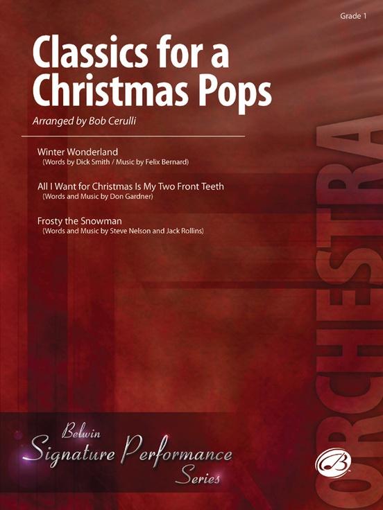 Classics for a Christmas Pops, Level 1