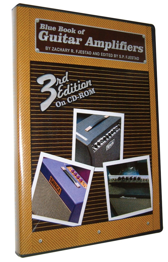 Blue Book of Guitar Amplifiers on CD-ROM (3rd Edition)
