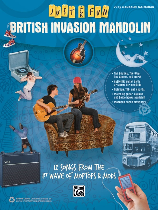 Just for Fun: British Invasion Mandolin