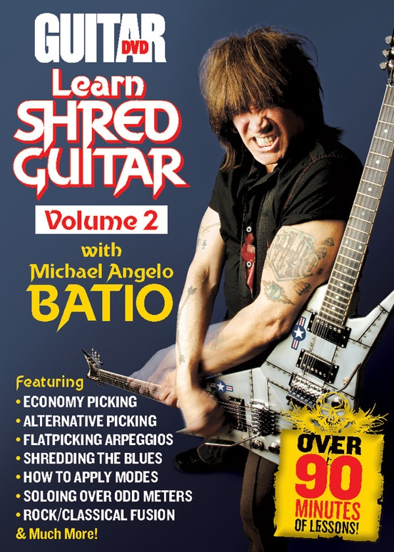 Guitar World: Learn Shred Guitar, Volume 2