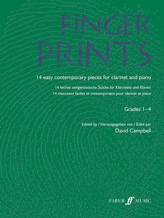 Fingerprints for Clarinet and Piano, Grade 1-4