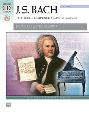 J. S. Bach, The Well-Tempered Clavier, Volume II