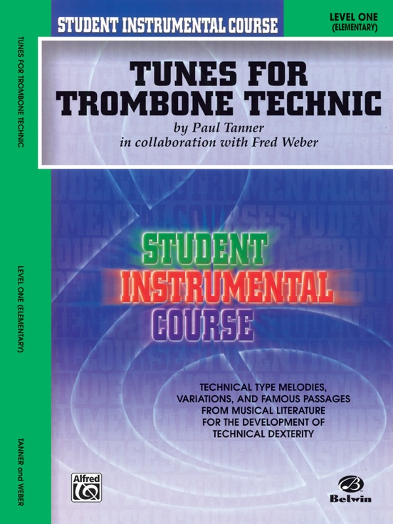 Student Instrumental Course: Tunes for Trombone Technic, Level I