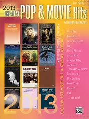 2013 Greatest Pop & Movie Hits