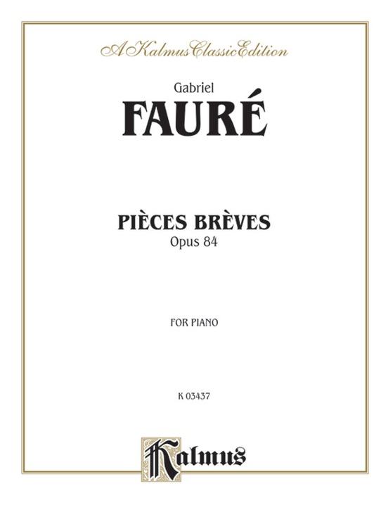 Pieces Breves, Opus 84