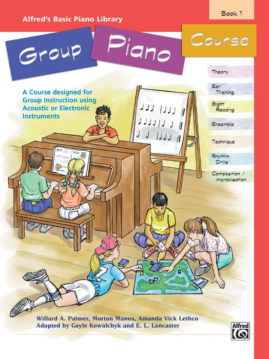 Alfred's Basic Group Piano Course, Book 1