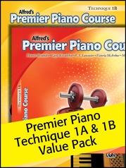 Premier Piano Course, Technique 1A & 1B (Value Pack)