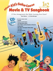 Alfred's Kid's Guitar Course Movie & TV Songbook 1 & 2
