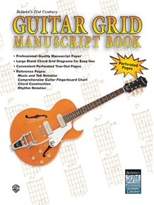 Belwin's 21st Century Guitar Grid Manuscript Book