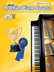 Premier Piano Course, Performance 1B