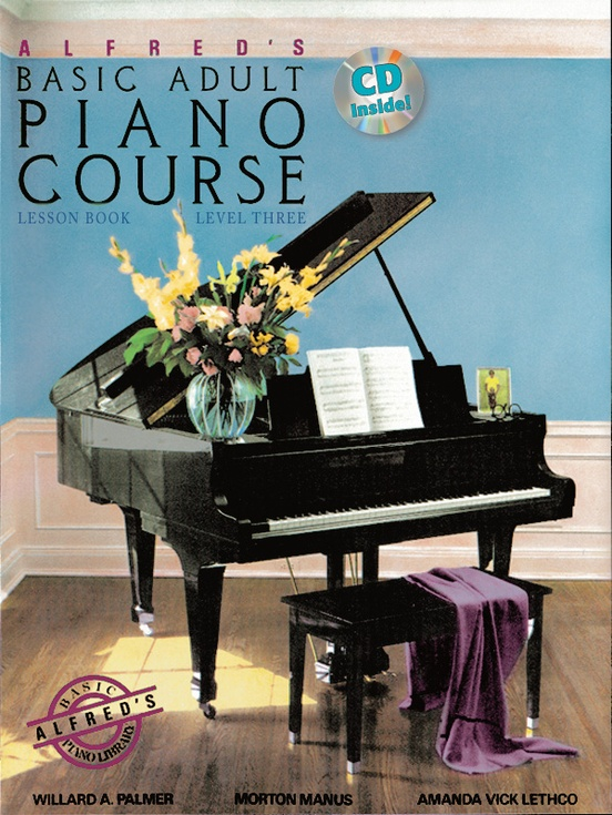 Alfred's Basic Adult Piano Course: Lesson Book 3