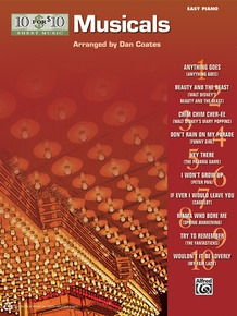 10 for 10 Sheet Music: Musicals