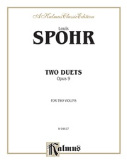 Two Duets, Opus 9